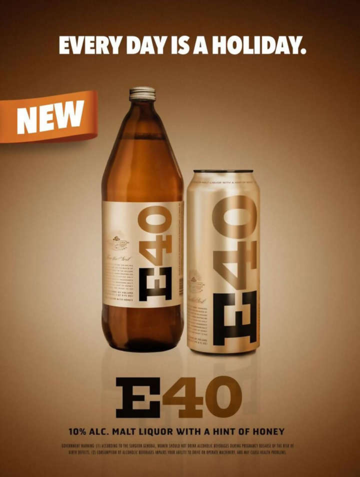 E40 Beer Ad: Every Day is a Holiday