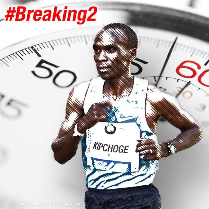 Eliud Kipchoge aiming for sub-two-hour marathon