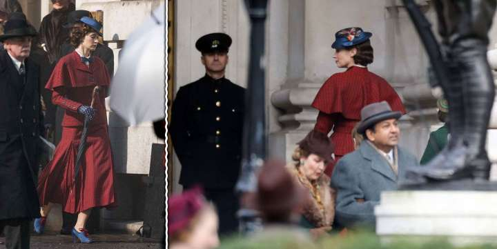 Emily Blunt in stills from Walt Disney's 'Mary Poppins Returns'