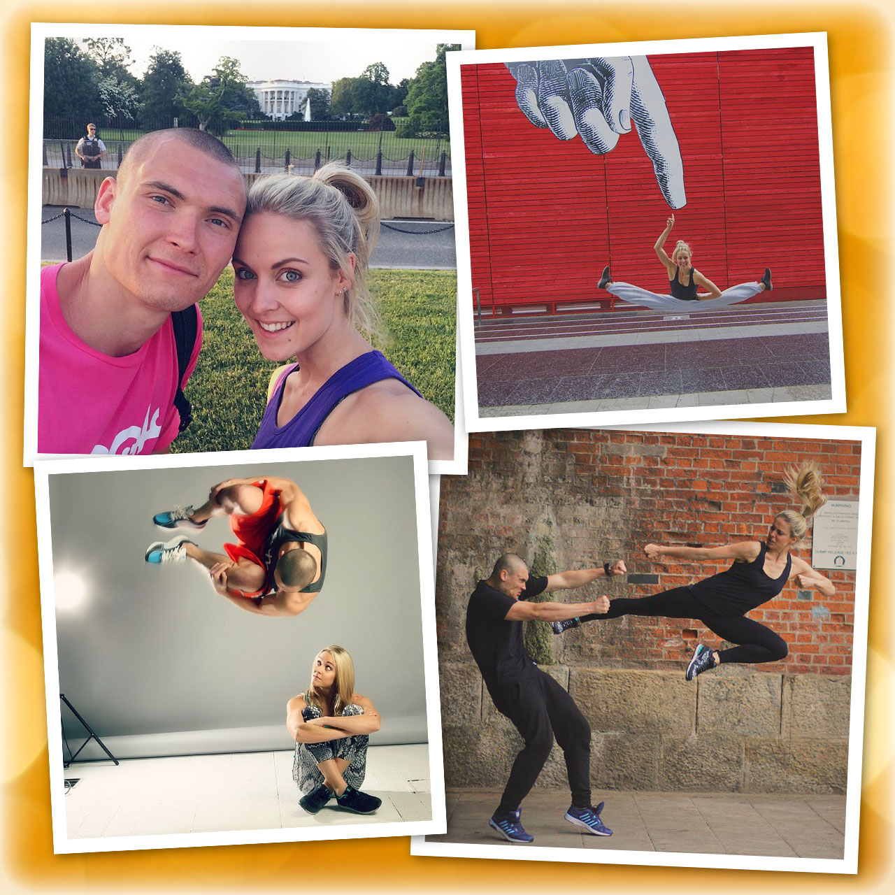Erik Mukhametshin and Katie McDonnell are real-life ninja warriors