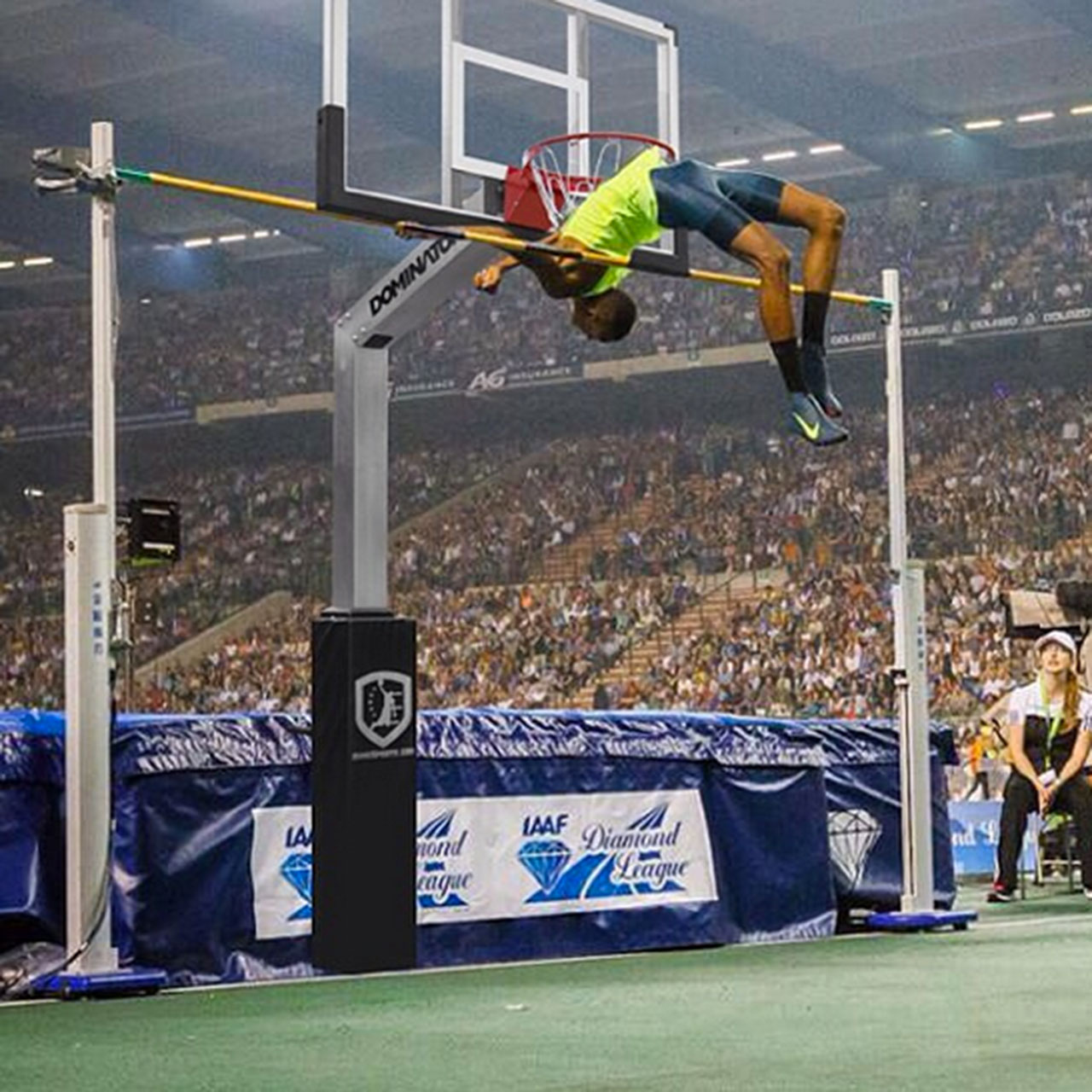Essa Barshim flirted with rewriting long-established gravitational laws