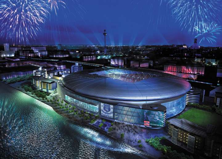 Everton FC's proposed King's Dock Stadium