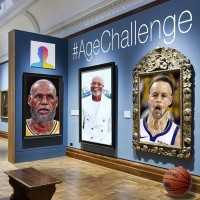 FaceApp's Age Challenge with LeBron James, Dwyane Wade and Steph Curry