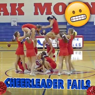 Fail Friday Follies: Cheerleading fails from A to Z
