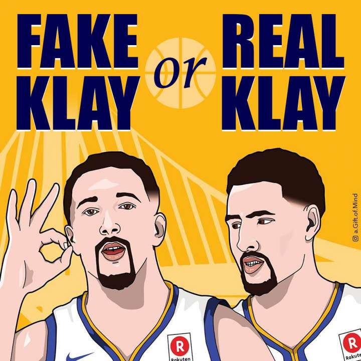 Fake Klay Thompson or Real Klay Thompson?