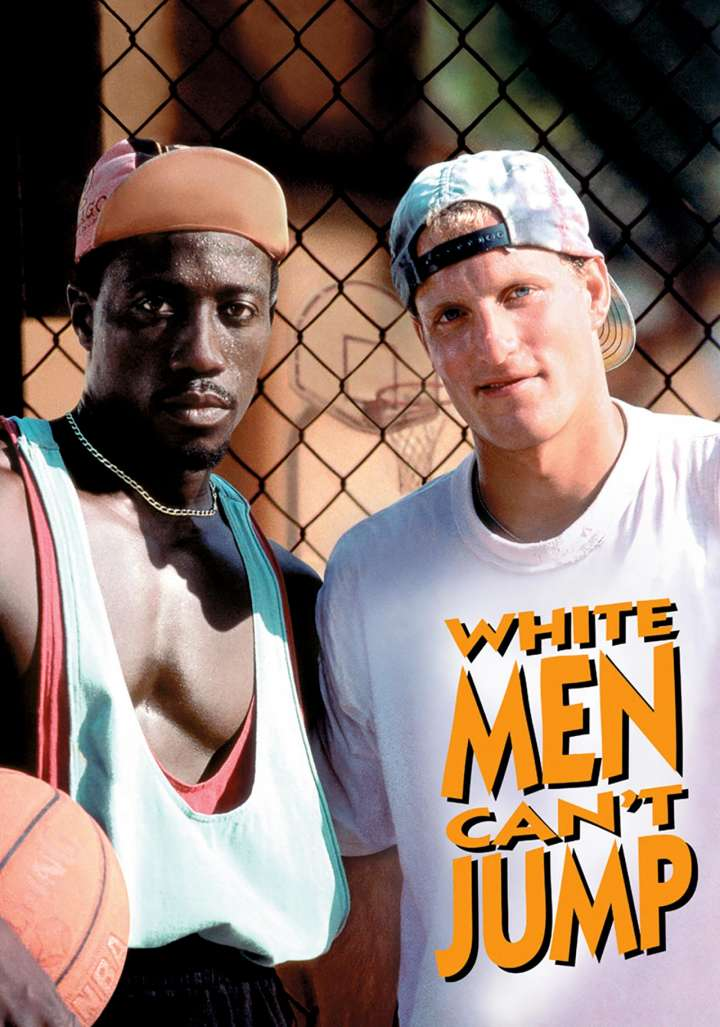 Fan art of 'White Men Can't Jump' starring Wesley Snipes and Woody Harrelson