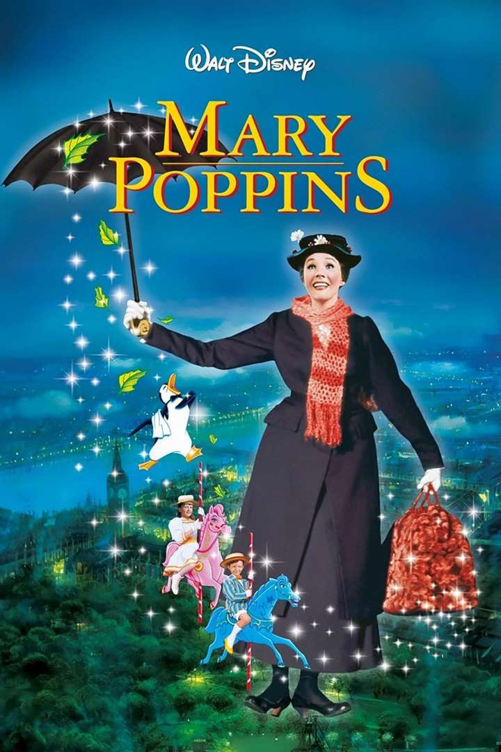Fan art poster of Walt Disney's 'Mary Poppins'
