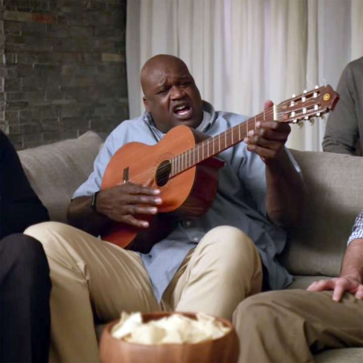 Fight Song Played by Shaq for March Madness ad