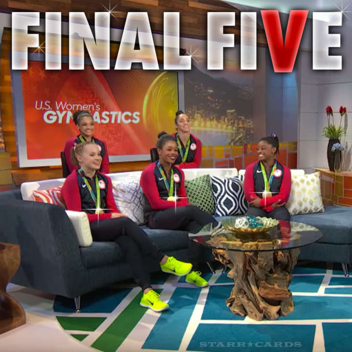 """Final Five"" enjoy gold medal moment"
