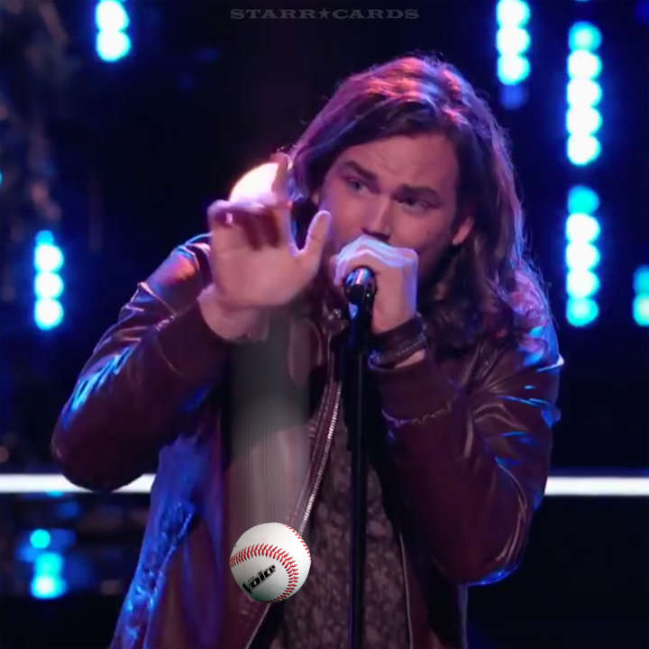 Former baseball star Blaine Mitchell gets snapped up by Team Adam on 'The Voice'