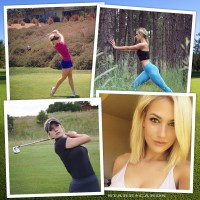 Former SDSU golfer Paige Renee Spiranac brings sizzle to the links