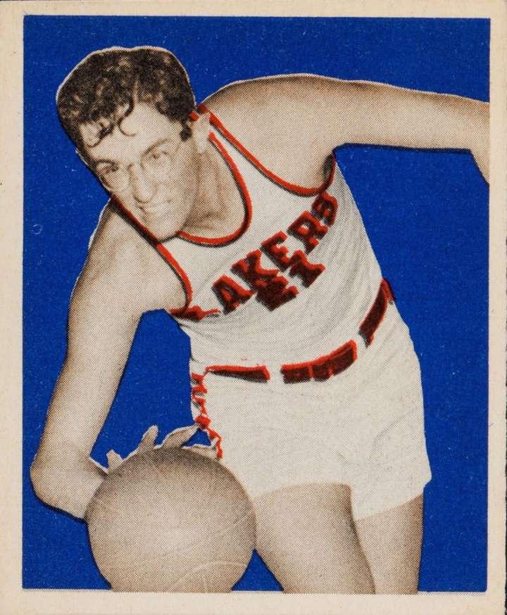 George Mikan 1948 Bowman basketball card