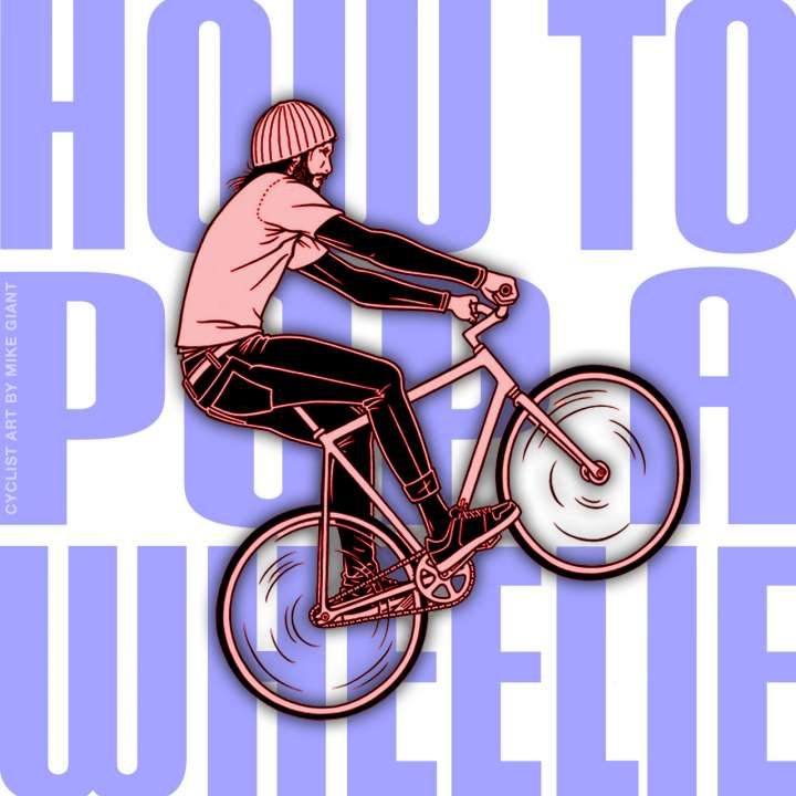 How to pop a wheelie