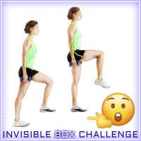 Invisible Box Challenge defies gravity one step at a time