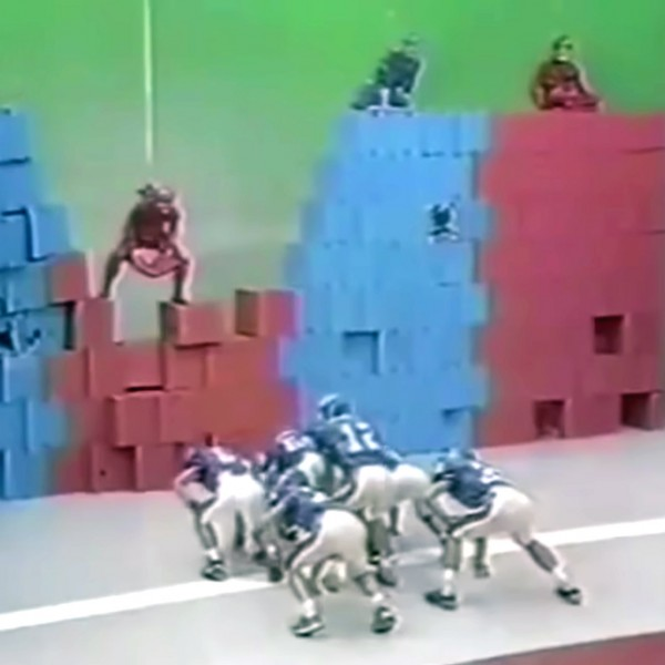 Japanese gameshow Wall of Boxes challenge