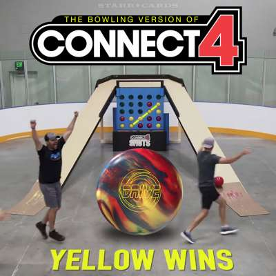Jason Belmonte plays bowling version of Connect 4 with Dude Perfect