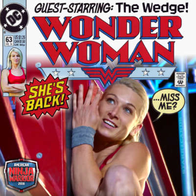 Jessie Graf makes Wonder Woman come to life on 'American Ninja Warrior'