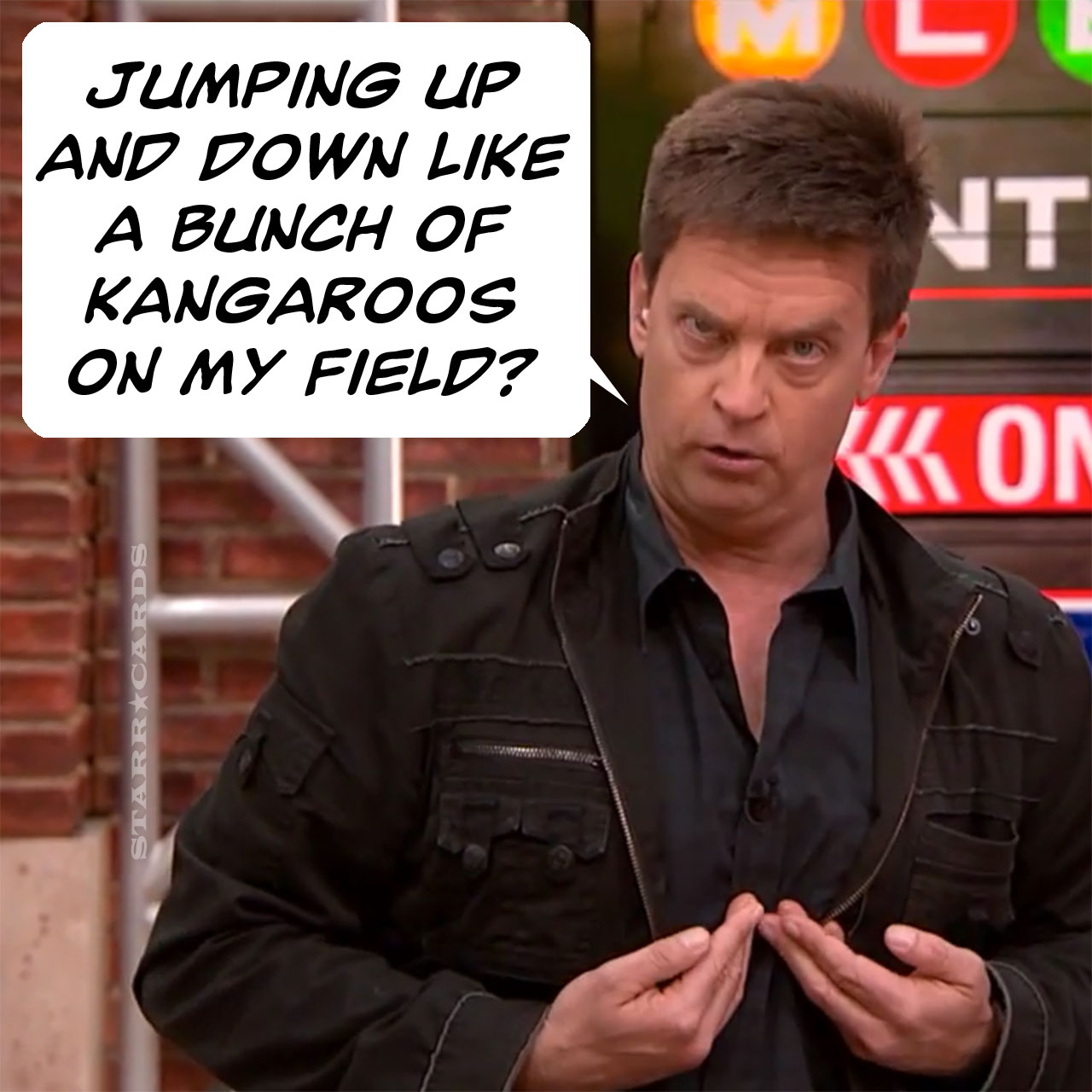 Jim Breuer does Joe Pesci announcing Mets game