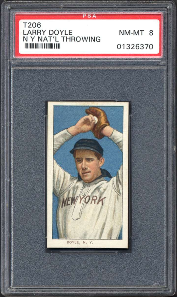 Joe Doyle, 1909-1911 ATC T206 baseball card