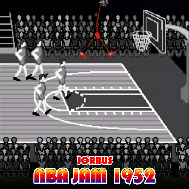 Jorbus NBA Jam 1952 featured on 'Late Night with Seth Meyers'