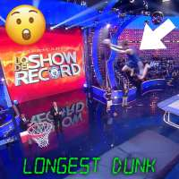 Jordan Ramos sets new world record for longest dunk from a trampoline