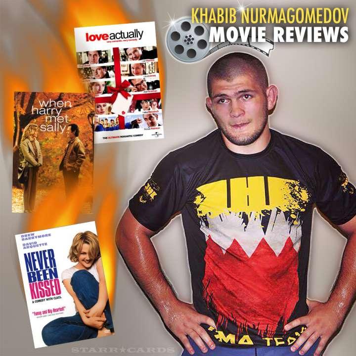 Khabib Nurmagomedov reviews love flicks