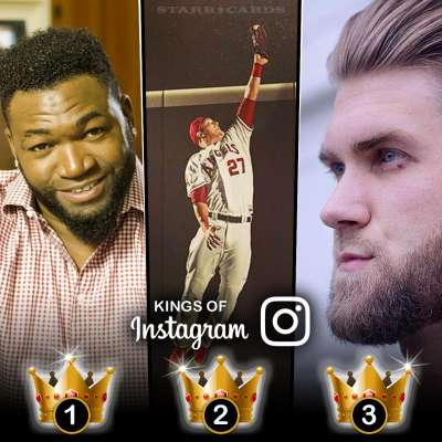 Kings of Instagram: David Ortiz, Mike Trout and Bryce Harper tops in followers among MLB stars