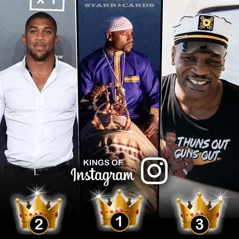 Kings Of Instagram: Floyd Mayweather Jr, Mike Tyson