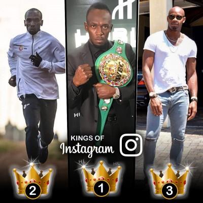 Kings of Instagram: Usain Bolt, Eliud Kipchoge, Asafa Powell tops among runners
