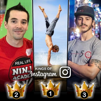 Kings of Ninja Warrior: Nicholas Coolridge, Drew Drechsel, Flip Rodriguez tops in Instagram followers