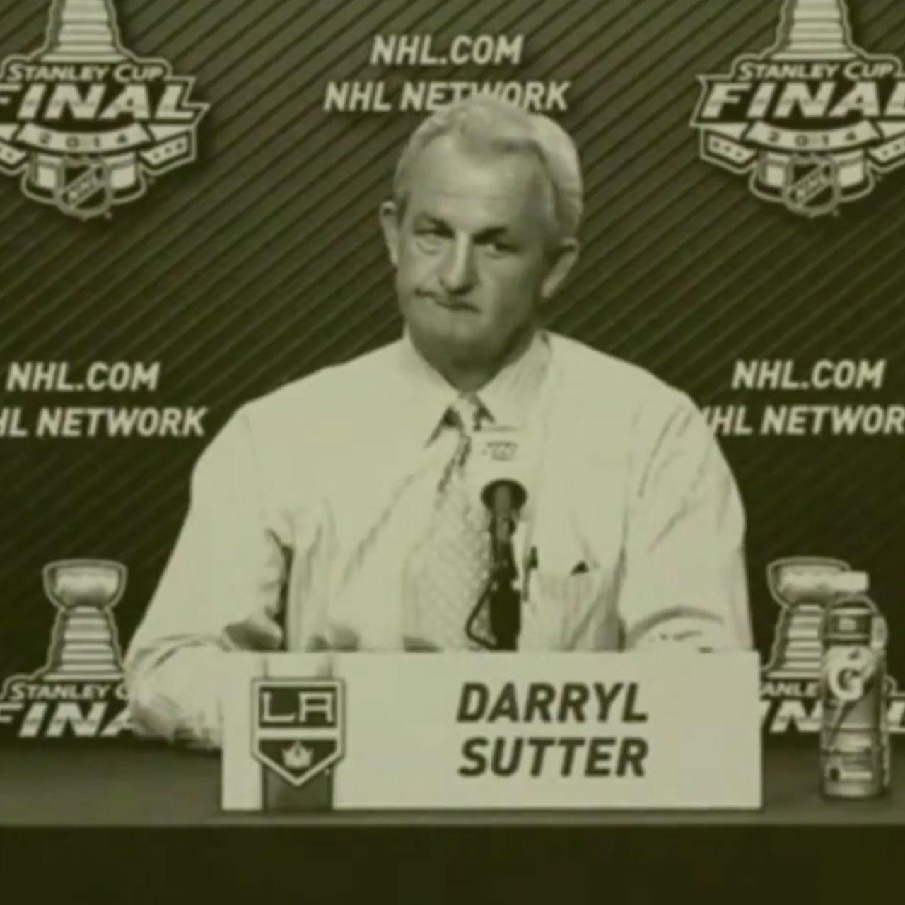 LA Kings coach Darryl Sutter