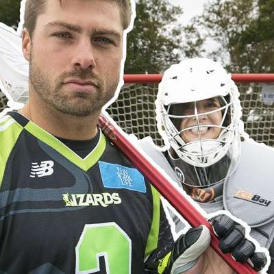 Lacrosse pro Rob Pannell vs regular people