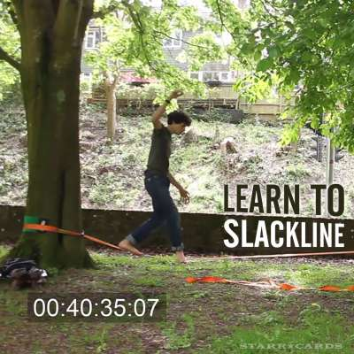 Learn to Slackline