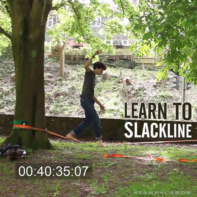 Learn to Slackline