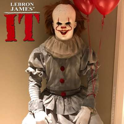 LeBron James' It wins best costume for Halloween 2017