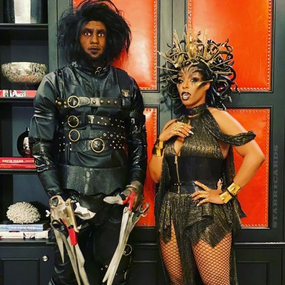 LeBron James transforms into LeDward Scissorhands for 2019 Halloween party