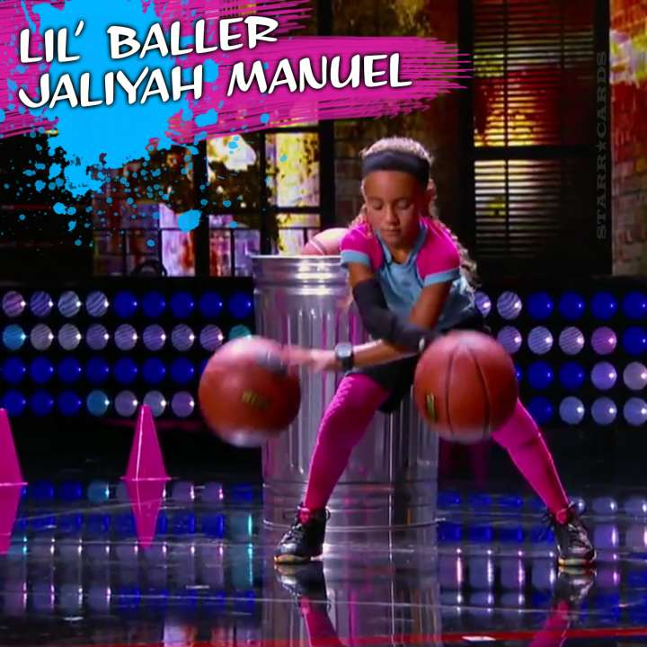 Lil' Baller Jaliyah Manuel entertains on Steve Harvey's 'Little Big Shots'
