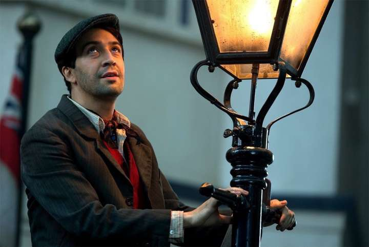 Lin-Manuel Miranda in a still from Walt Disney's 'Mary Poppins Returns'