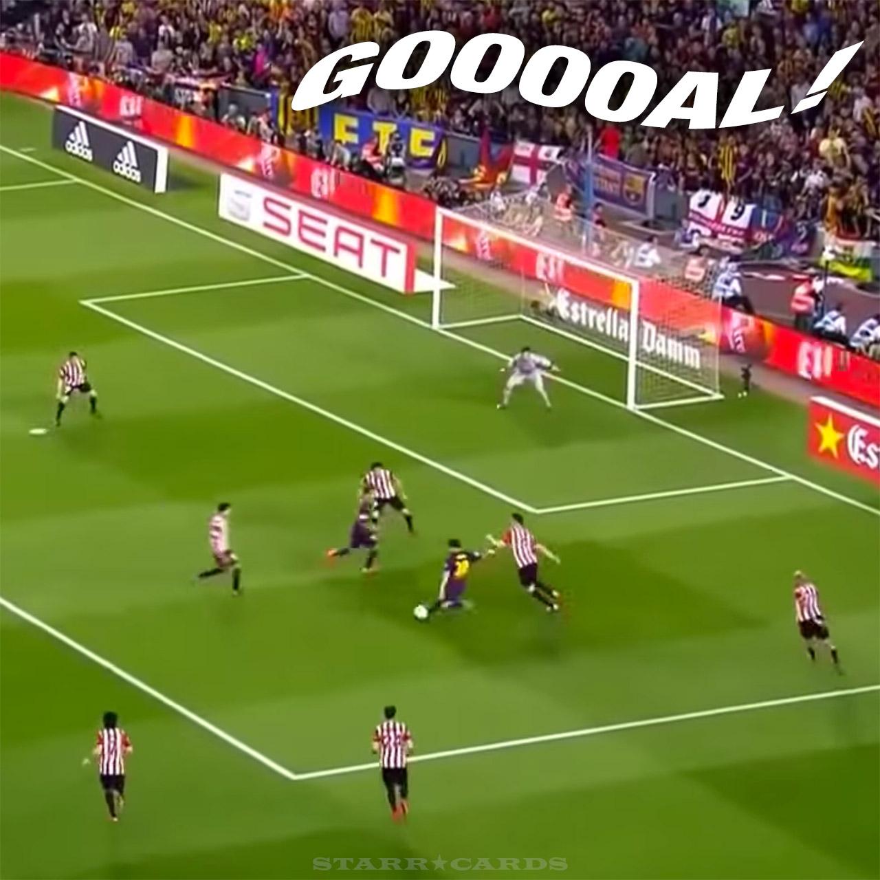 Lionel Messi goal versus Athletic Bilbao in Copa Del Rey nominated for Puskás Award