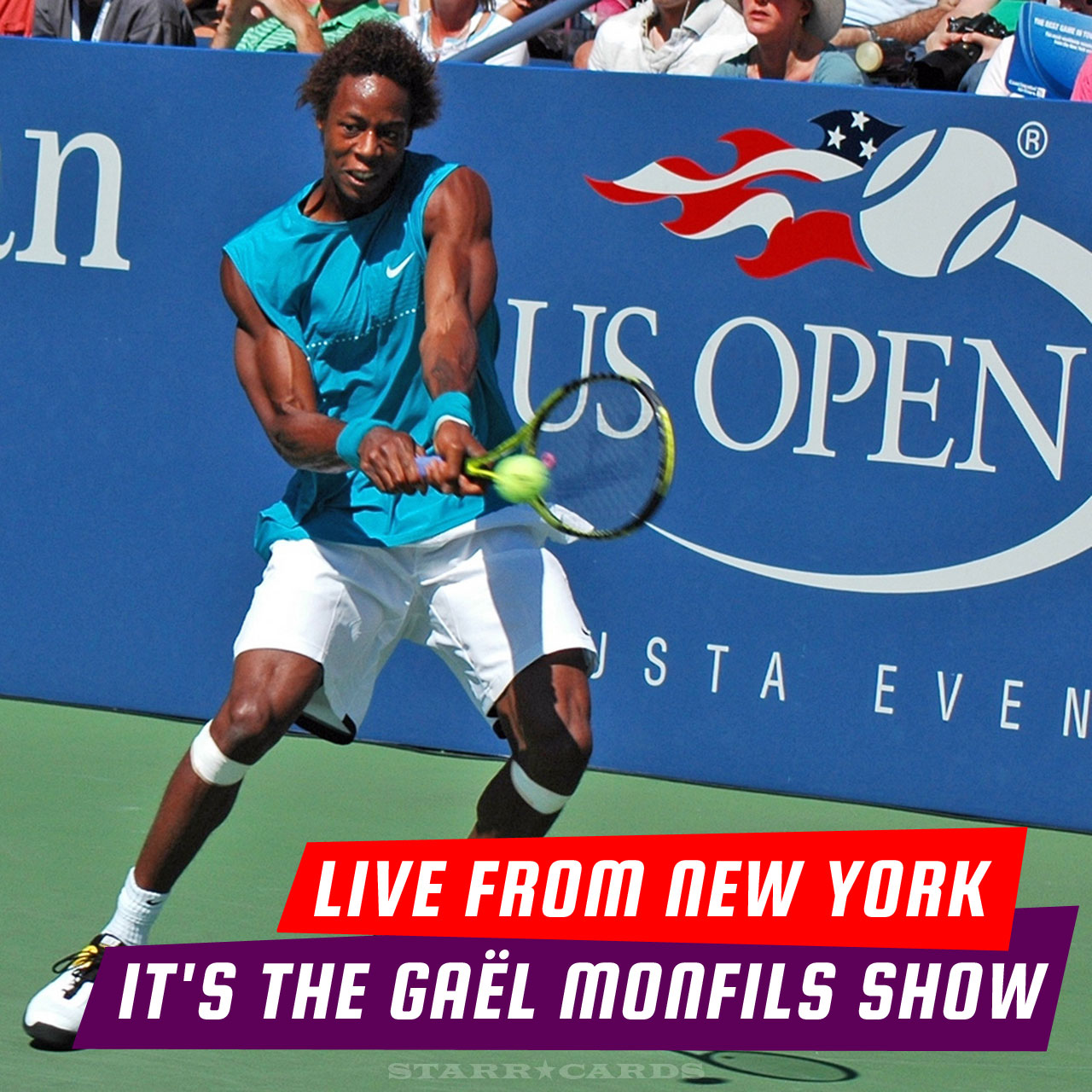 Live from New York: it's The Gaël Monfils Show