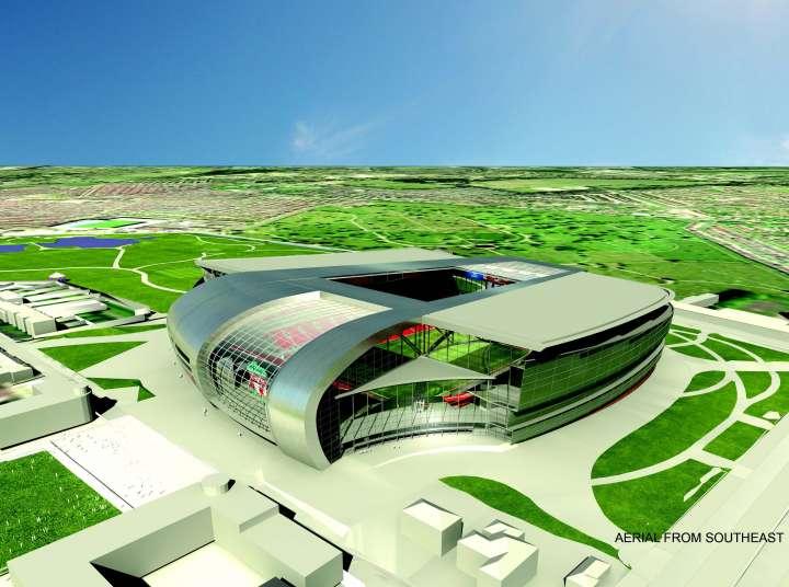 Liverpool FC's proposed Stanley Park Stadium