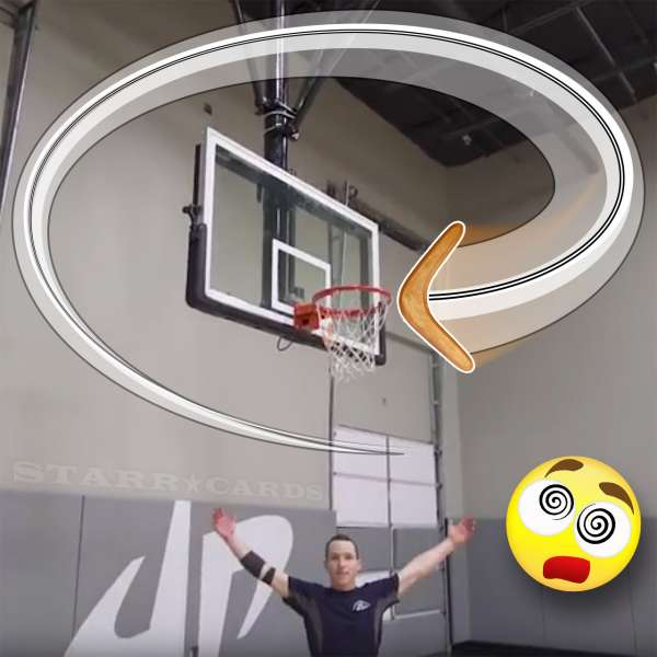 Logan Broadbent partners with Dude Perfect on epic boomerang trick-shots