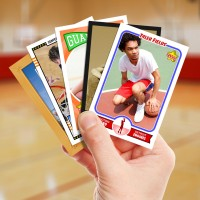Make your own basketball card with Starr Cards.