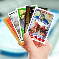 Make your own hockey card with Starr Cards.