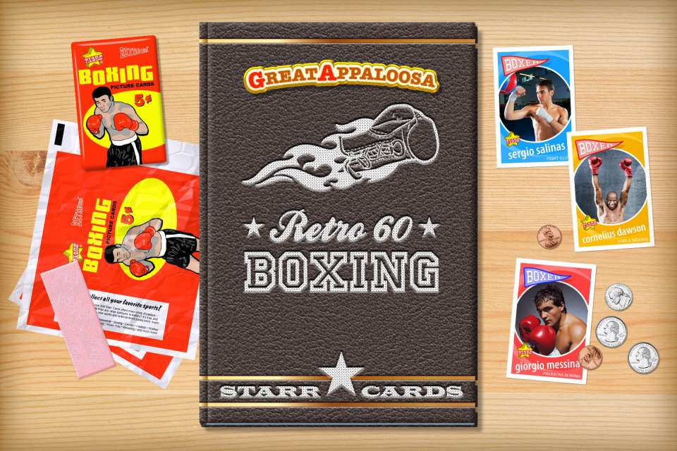 Make your own retro boxing card with Starr Cards.
