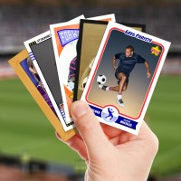 Make your own soccer card with Starr Cards.