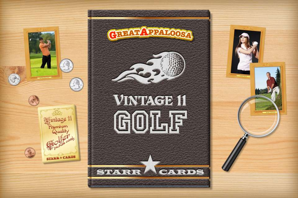 Make your own vintage golf card with Starr Cards.