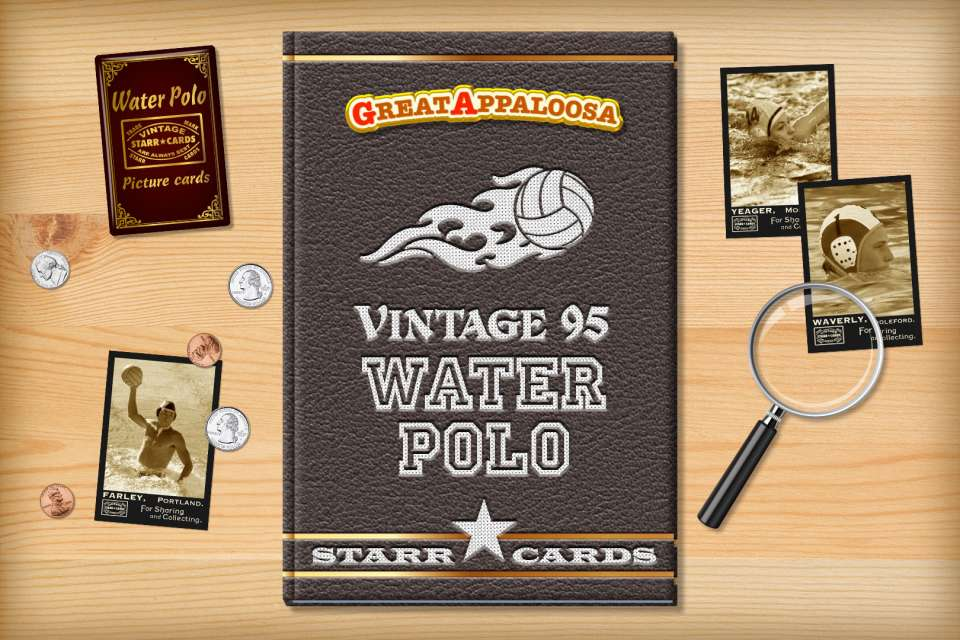 Make your own vintage water polo card with Starr Cards.