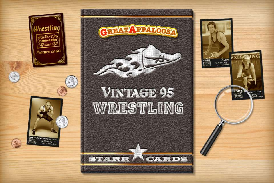 Make your own vintage wrestling card with Starr Cards.