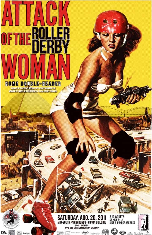Memphis Roller Derby poster